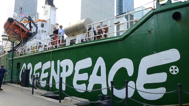 The Arctic Sunrise, Greenpeace UK Fundraiser - Vegan Peasant Catering