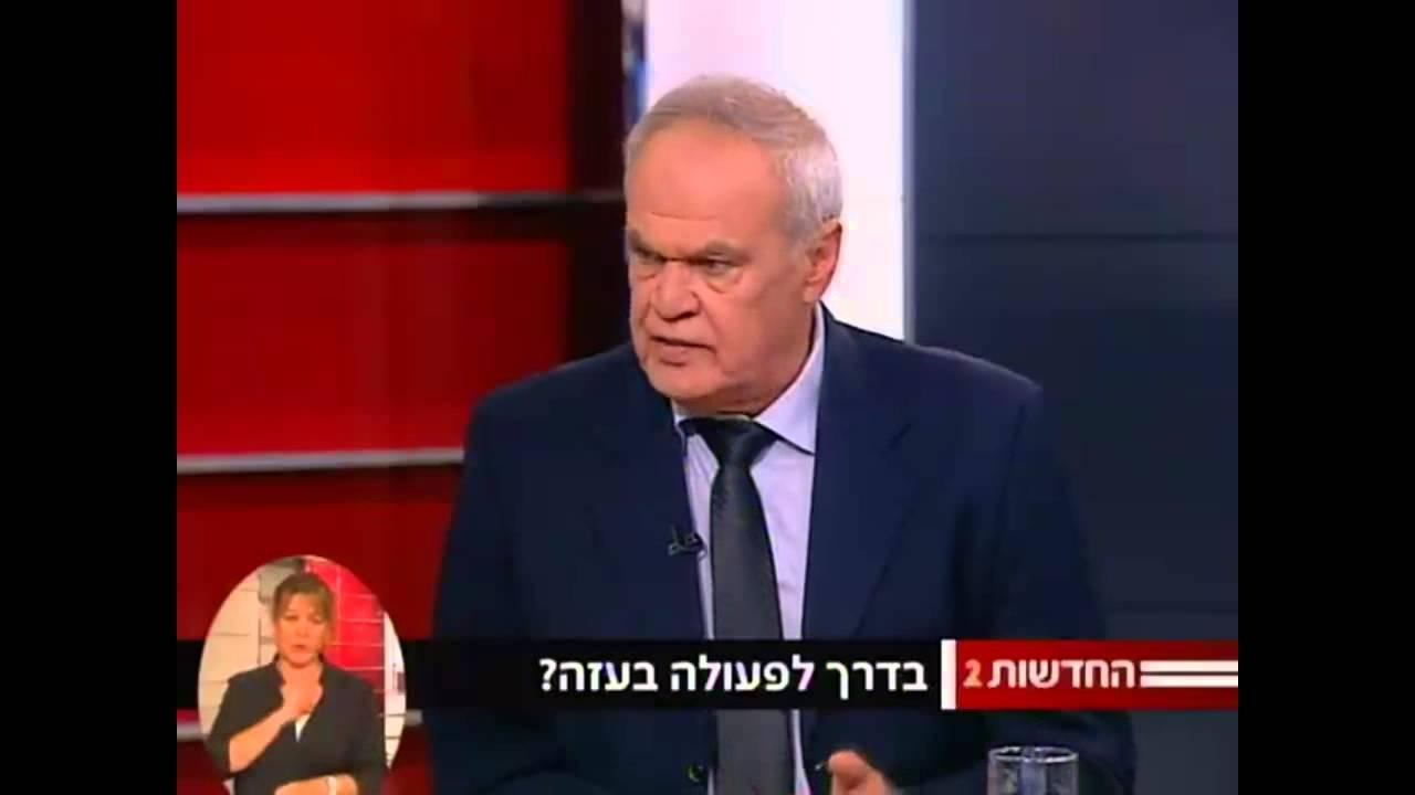 פרשן חדשות2 רוני דניאל. צילום מסך.