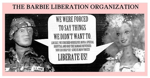 barbie liberation organization http://beautifultrouble.org/case/barbie-liberation-organization/