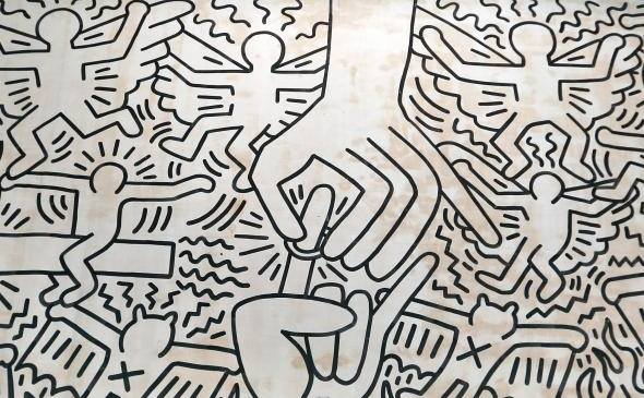 The Marriage of Heaven and Hell, Keith Haring, 1984