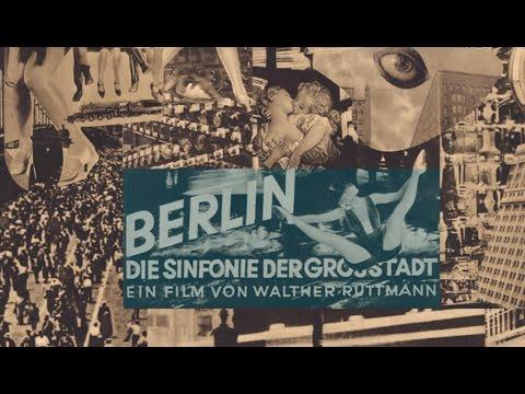 פוסטר: ברלין סימפוניה של עיר, 1927. במאי ולטר רוטמן .  Berlin: Symphony of a Metropolis  1927 Director: Walter Ruttmann.