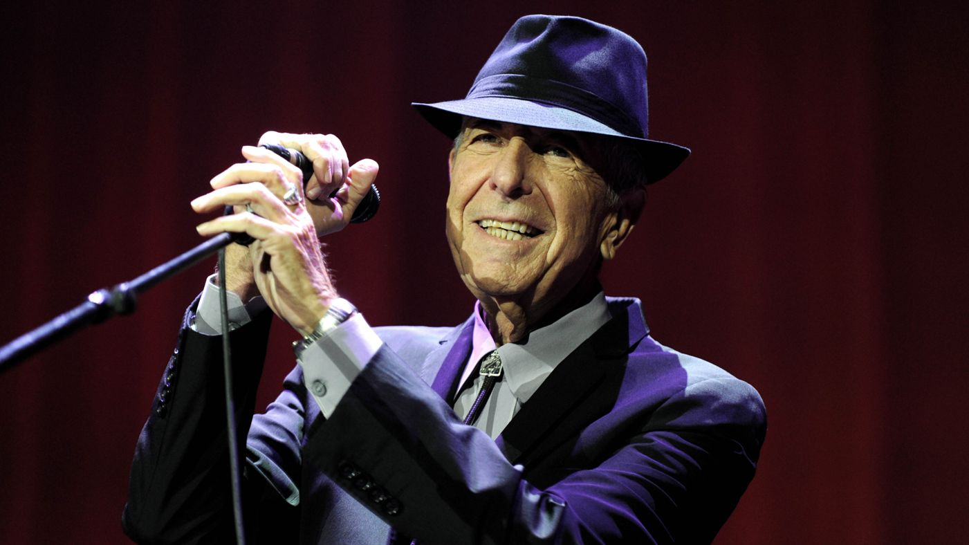 Leonard Cohen in concert at The O2 Arena in London on September 5, 2013. REX USA/Brian Rasic/Rex