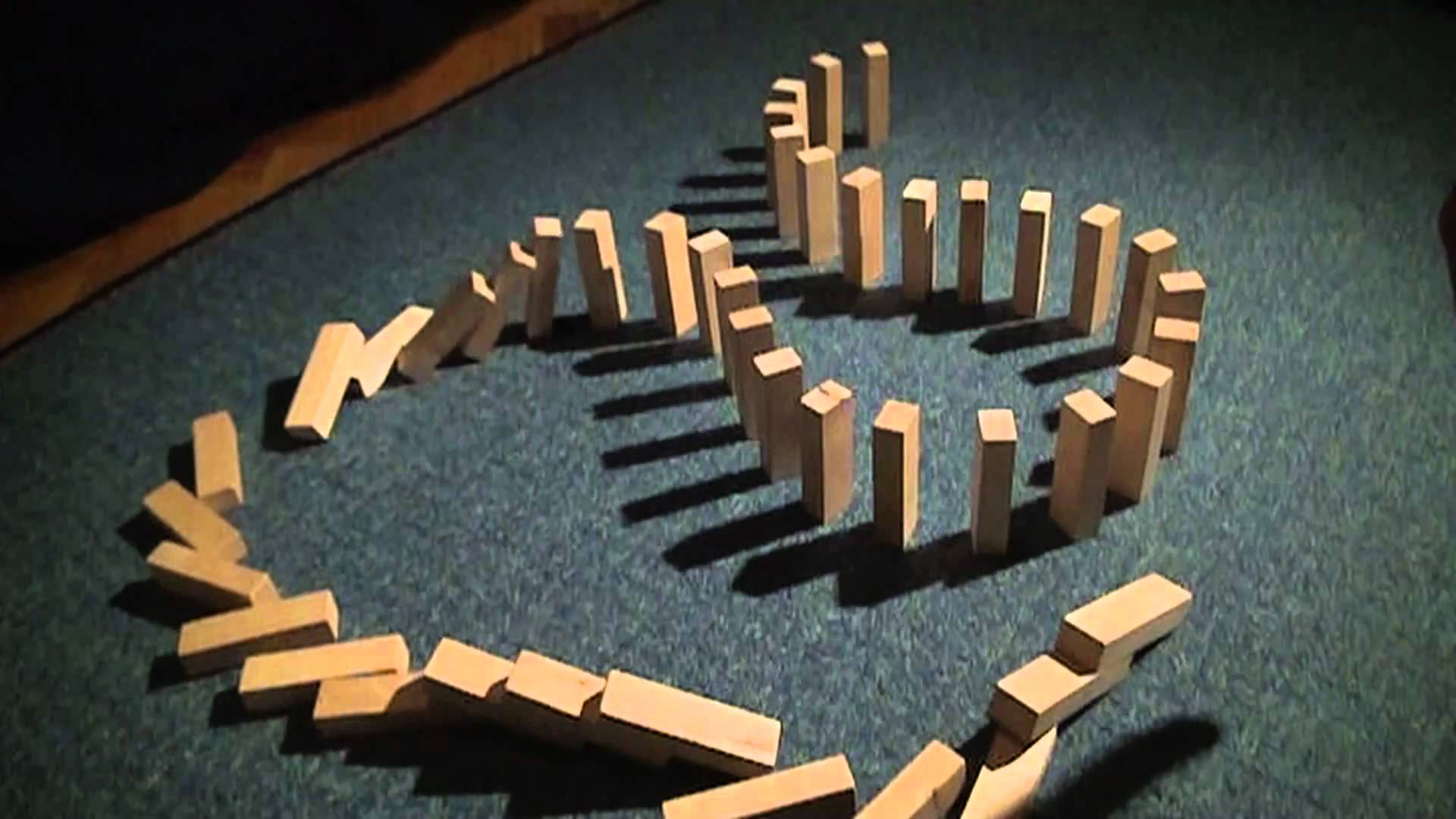 Source: YouTube: Sony HDR-CX305: Dominos Slow Motion [HD]