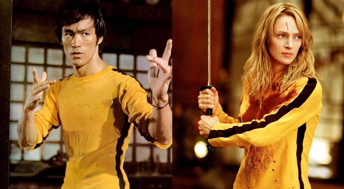 Uma Thurman in Quentin Tarantino's KILL BILL, 2003