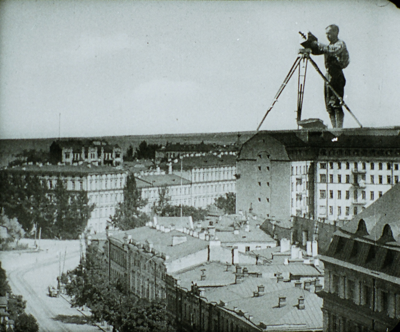 Man with a Movie Camera,  Dziga Vertov, 1929