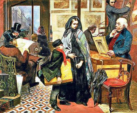 """אמילי מרי אוסבורן emily-mary-osborn """"חסרת שם וחסרת חברים"""" (1857)"""