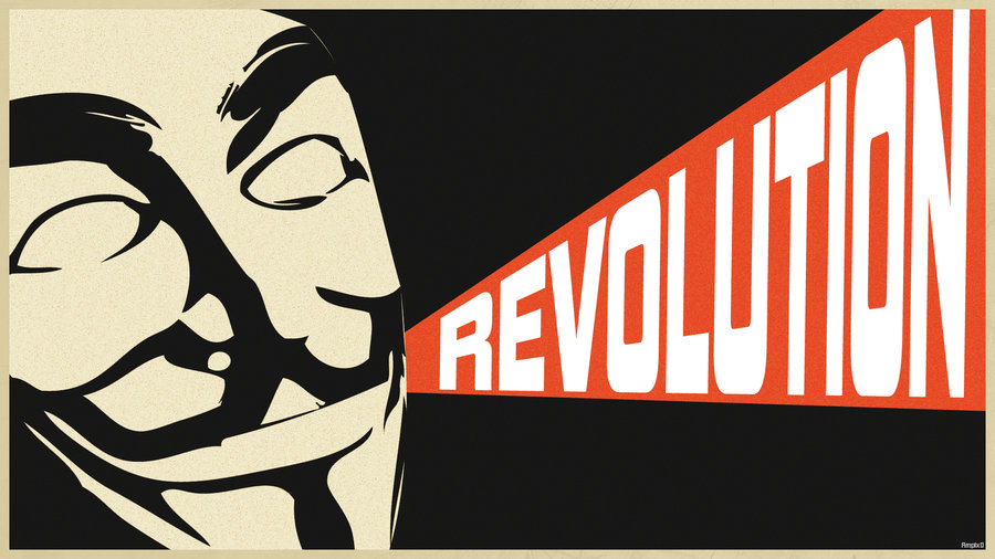 Anonymous Propaganda poster