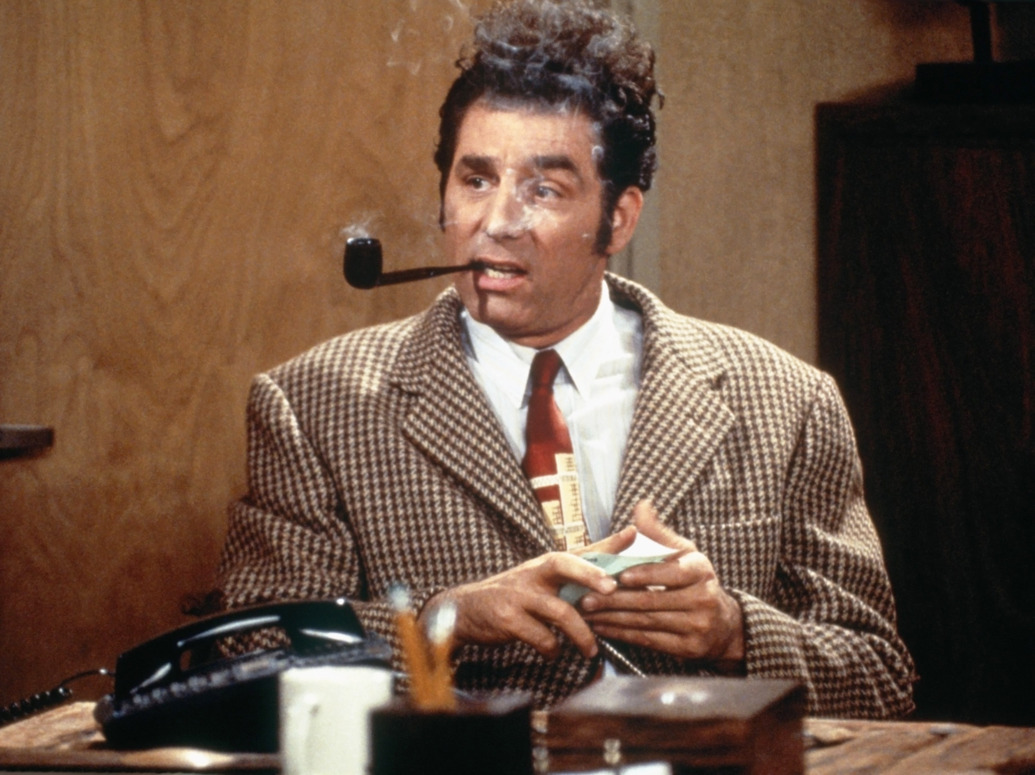 Michael Anthony Richards as Cosmo Kramer on the television sitcom Seinfeld