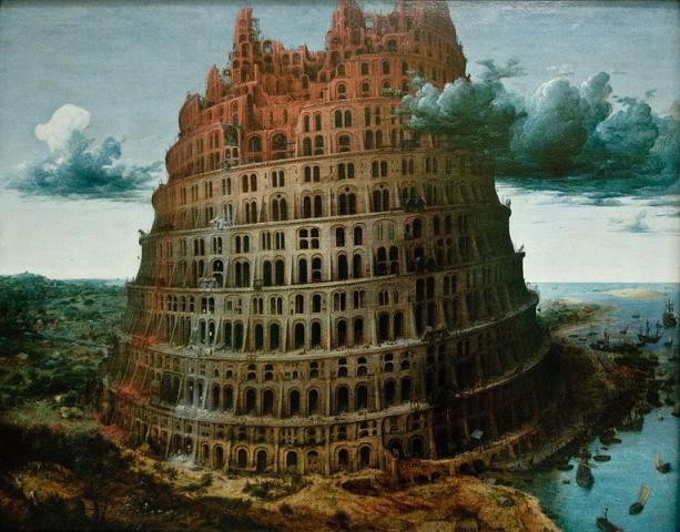 La Tour de Babel, Brueghel, 1563