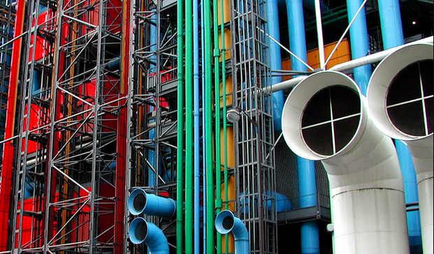 Centre George Pompidou (Photo by Phil Hilfiker)