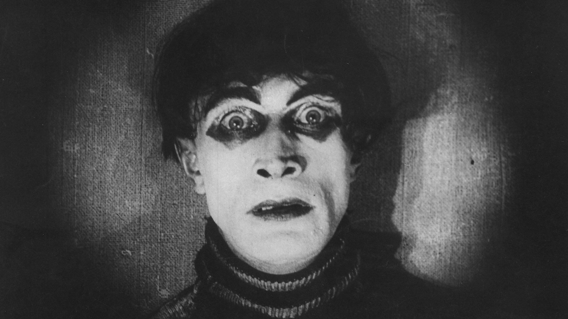 from: The Cabinet of Dr. Caligari (1920). Director: Robert Wiene