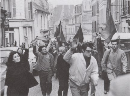 Paris, May '68. Unknown photographer