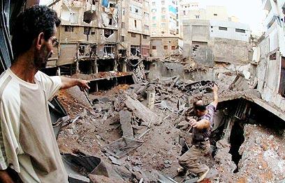שכונת הדאחייה, ביירות. מלחמת לבנון השניה.