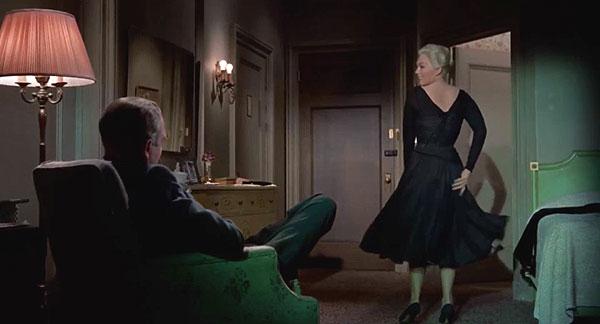 מתוך: ורטיגו (1958). במאי: אלפרד היצ'קוק