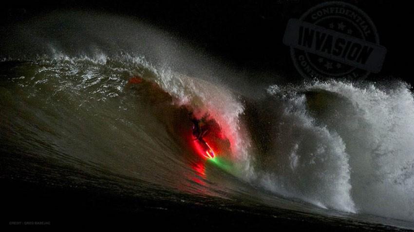 צילום: Harald Albrigsten גלישת גלים בזוהר הצפוני Photographer not found