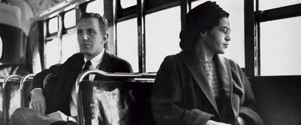 Rosa Parks's Symbolic Bus Ride, 1956
