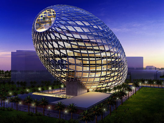 Mumbai, India ~ The Egg Office Building Denise O'Dwyer Feng Shui London UK www.SpaceWorksFengShui.com
