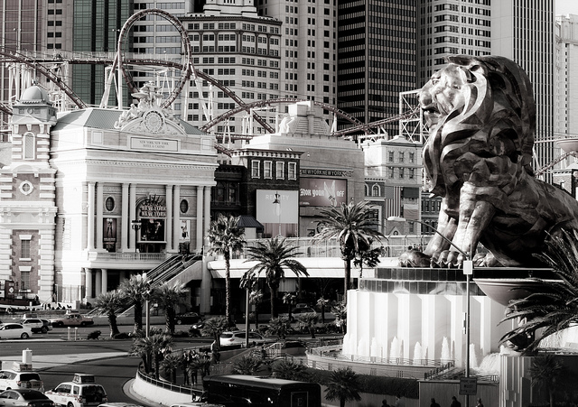 las-vegas-strip  by Justin Goring