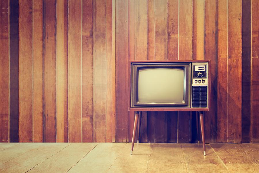 Old vintage television or tvin vintage style bigstock-134865950