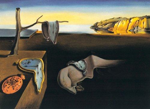 La Persistance de la mémoire. 1931. Salvador Dalí