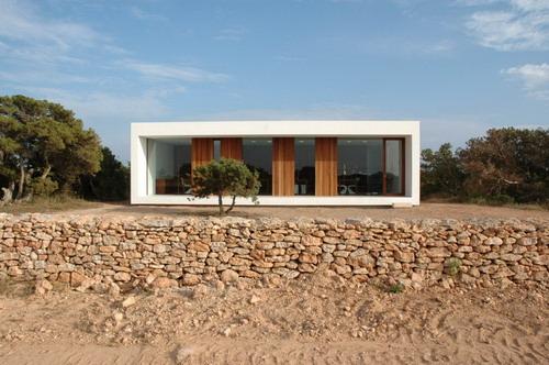 Vivienda y Estudio de Arquitectura en Formentera por Maria Castello