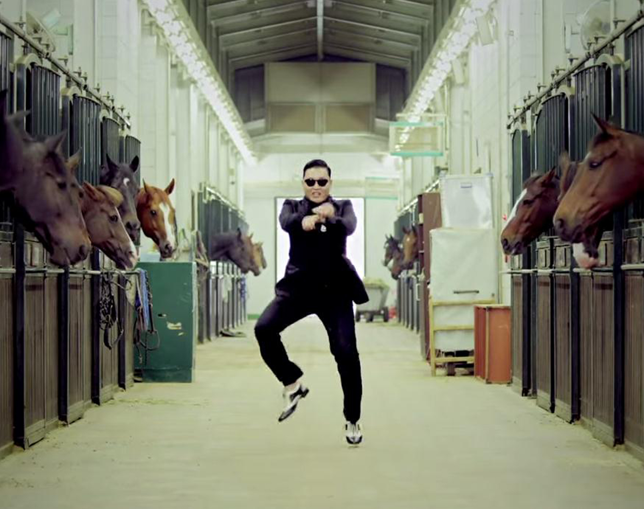 "from: ""Gangnam Style"" Video Clip, 2012"